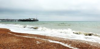Brighton Beach fotografia stock