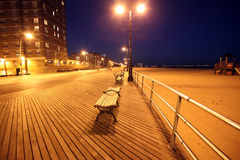 Brighton Beach of Coney Island, New York, USA Royalty Free Stock Image