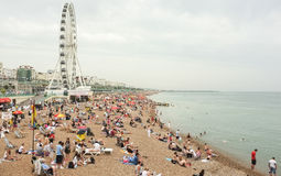 Brighton Beach, England Stock Photography