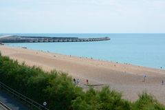 Brighton beach. England Royalty Free Stock Image