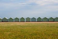 Brighton Beach Huts Stock Image