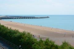 Brighton Beach inglaterra Imagen de archivo libre de regalías