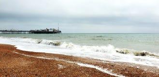 Brighton Beach arkivbild