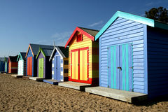 Brighton beach, Melbourne Royalty Free Stock Photo