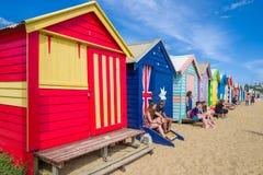 Brighton Beach, Melbourne Stock Photography