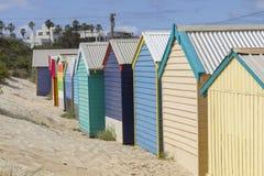 Brighton Beach in Melbourne, Australia Royalty Free Stock Photo