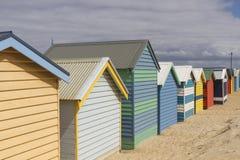 Brighton Beach in Melbourne, Australia Stock Images