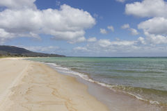 Brighton Beach in Melbourne, Australia Royalty Free Stock Images