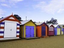 Brighton Beach, Melbourne, Victoria, Australia Royalty Free Stock Photos