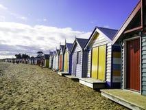 Brighton Beach, Melbourne, Victoria, Australia Stock Photo