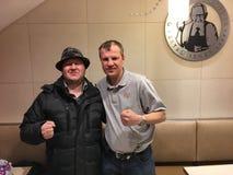 Mikhail Salita With Sergey Artemyev Stock Images