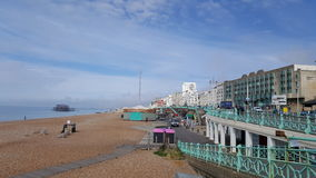 Brighton beach pier. Sunny Lovely Brighton Stock Photography