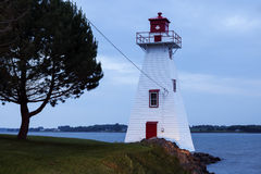 Brighton Beach Range Front Lighthouse in Charlottetown Stock Photo