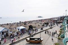 Brighton beach in summer Stock Images