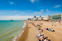 Brighton beach Stock Photos