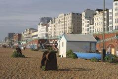 Brighton Beach. Sussex. Engeland stock foto