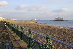 Brighton Beach. Sussex. England Stock Photography