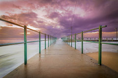 Brighton Beach Tidal Pool Royalty Free Stock Image