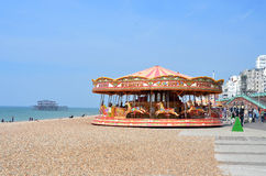 Brighton Beachfront Royalty Free Stock Photo