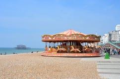 Brighton Beachfront Royalty Free Stock Photo