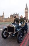 brighton bil london som körs till Arkivfoto