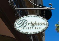 Brighton Collectibles Store en Teken royalty-vrije stock fotografie