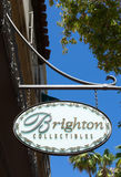 Brighton Collectibles Store and Sign Stock Image