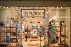 Brighton Collectibles storefront royalty-vrije stock afbeeldingen