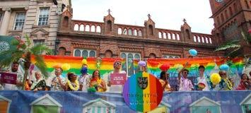 Brighton College Pride Supporters images libres de droits