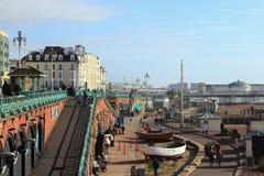 BRIGHTON, EAST SUSSEX, ANGLETERRE, ROYAUME-UNI - 7 FÉVRIER 2019 : Station balnéaire Brighton et Hove photographie stock libre de droits