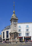 Brighton East Sussex England UK sommartidklocka-torn Royaltyfri Fotografi