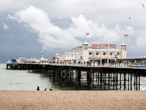 Free BRIGHTON, EAST SUSSEX/UK - MAY 24 : View Of Brighton Pier In Brighton East Sussex On May 24, 2014. Unidentified People Stock Images - 72940634
