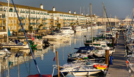 BRIGHTON, EAST SUSSEX/UK - NOVEMBER 1 : Boats in the Marina in B Stock Image