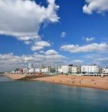 Brighton England - vertikal panorama. Fotografering för Bildbyråer