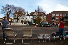 Brighton et marathon Hove Photos libres de droits
