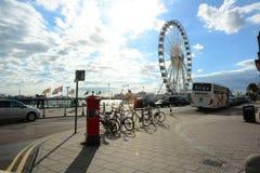 Brighton Ferris-Rad Großbritannien Stockbilder