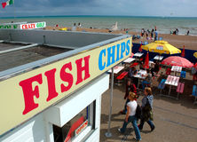 Brighton Fish et puces Photos libres de droits