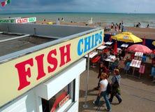 Brighton Fish und Chips Lizenzfreie Stockfotos