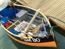 Brighton Fishing Boat Royaltyfri Foto