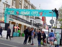 Brighton Fringe en Brighton Sussex image libre de droits