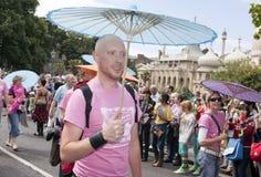 Brighton gay pride parade celebration Royalty Free Stock Photo