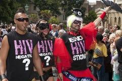 Brighton gay pride parade celebration Royalty Free Stock Images