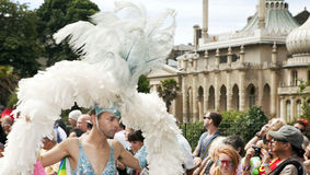 Brighton gay pride parade celebration Royalty Free Stock Photo