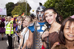 Brighton gay pride parade celebration Royalty Free Stock Image