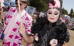 Brighton gay pride parade celebration Stock Photo