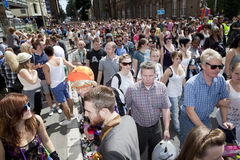 Brighton gay pride parade celebration Stock Image