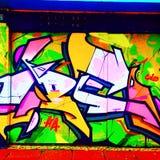 Brighton graffiti Stock Photography