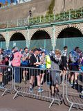 Brighton Half Marathon 2018. Brighton Half Marathon is one of the oldest and most popular marathons held in the UK Stock Photos