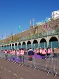 Brighton Half Marathon 2018. Brighton Half Marathon is one of the oldest and most popular marathons held in the UK Royalty Free Stock Images
