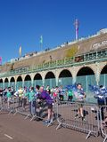 Brighton Half Marathon 2018. Brighton Half Marathon is one of the oldest and most popular marathons held in the UK Royalty Free Stock Photo